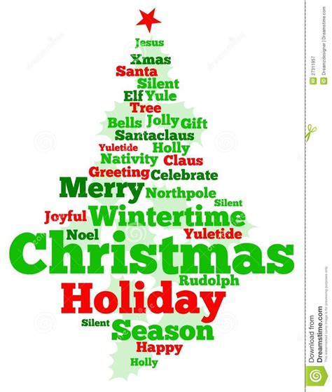 christmas related words christmas decore