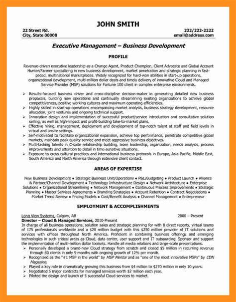 Best Executive Resume Sles 10 Best Executive Resume Format Scholarship Letter