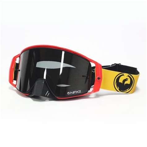 dragon motocross goggles dragon new mx nfx2 jason anderson injected ionized