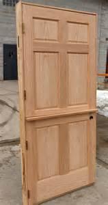 Interior Dutch Doors Oak Interior Dutch Door With Shelf