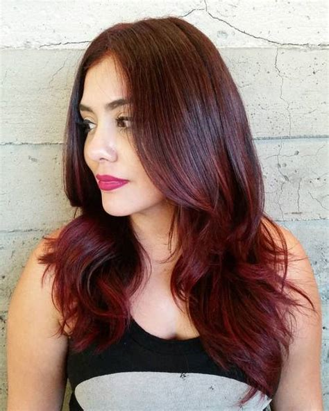 ambray hair color w dark brown 25 thrilling ideas for red ombre hair