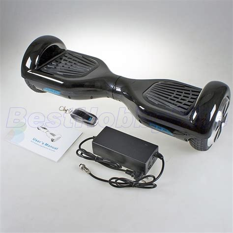 Psmart Balance Wheel two wheels smart self balancing electric unicycle scooter remote black hk ship ebay