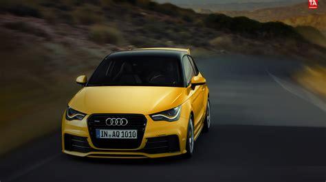 Audi A1 Gelb by Tessoart Audi A1 Quattro In Yellow