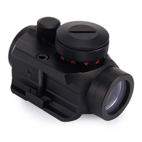 Tabung 5 X 20 No Garansi teropong senapan holographic green dot scope 20mm rail mount black jakartanotebook