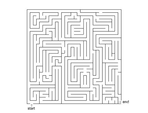 6 best images of big printable mazes free printable leicestershire dyslexia association big maze 5 printable