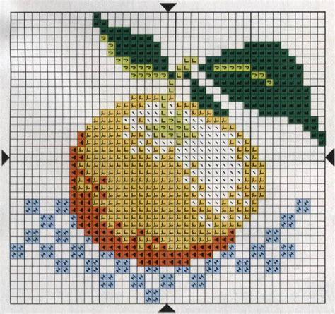 dibujos a punto de cruz de el libro de la selva de disney dibujos de frutas bordadas a punto cruz dise 241 os de