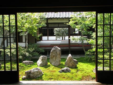 Japanese Style House Plans by 27 Calm Japanese Inspired Courtyard Ideas Digsdigs