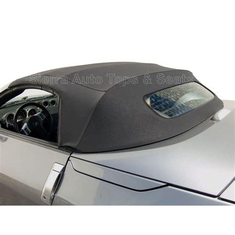 2004 nissan 250z 2004 2009 nissan 250z black replacement soft tops