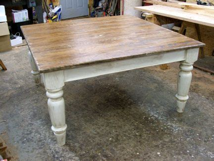 large farmhouse table legs square cherry wood top and base farmhouse table with a 1