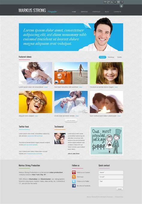 videographer resume exle attractive videographer website templates gift resume