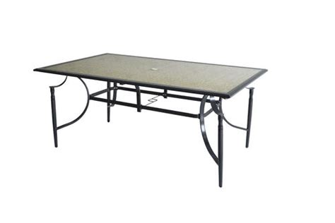 Menards Patio Table Backyard Creations 174 Sorento Dining Table