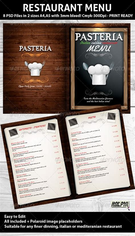 17 best images about menu design on modern
