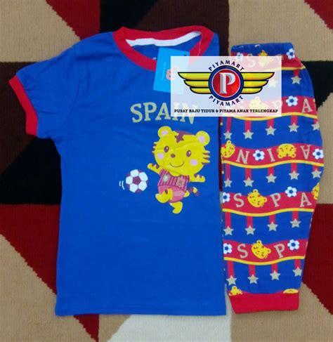 Gw Gleoithe Wardrobe Baju Setelan Anak Laki Laki 6 jual baju tidur anak laki laki gw fifa world cup spain piyamart