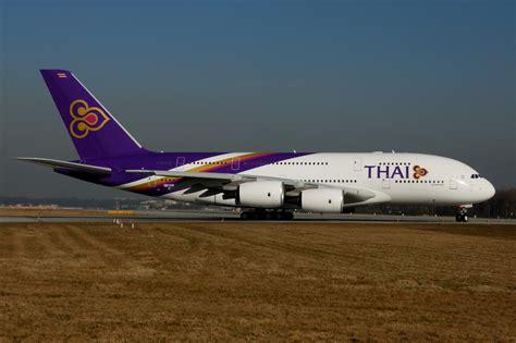 thai airways airbus hamburg finkenwerder news a380 841 thai airways