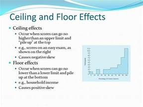 Ceiling And Floor Effect overview of statistical concepts ppt