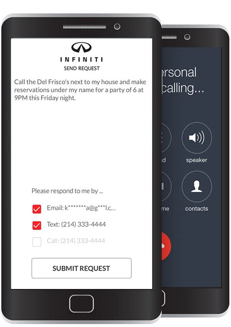 infiniti personal assistant