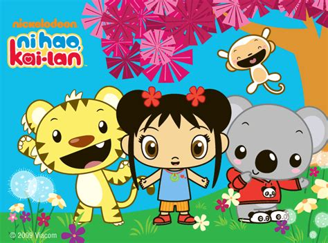Ni hao kai lan cartoon image