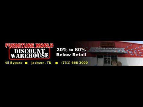 Furniture World Jackson Tn by Furniture World Discount Warehouse Jackson Tn 38301