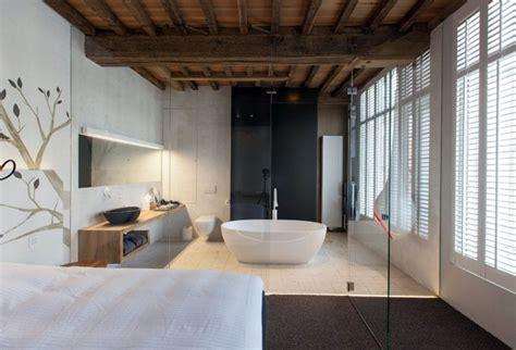 hotels with bathtub in bedroom chic hotel decor interiorzine