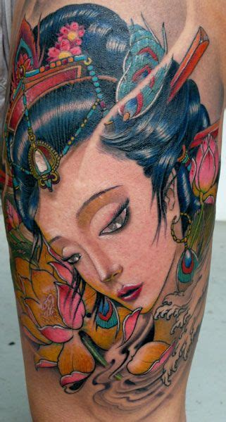 tattoo geisha orientale 50 best geisha images on pinterest