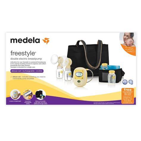 medela freestyle free breast