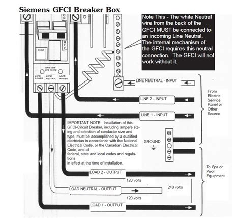 wiring diagram for 240v tub how to wire a tub gfci
