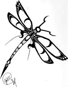 dragonfly tribal tattoo by hsien lung on deviantart