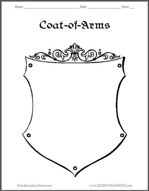 make your own coat of arms template make your own coat of arms search heraldiek