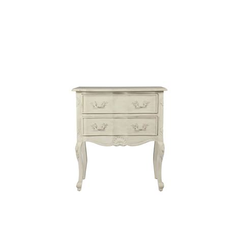 Commode Définition by Commode Tristan Avec 2 Tiroirs Finition Blanc Cass 233