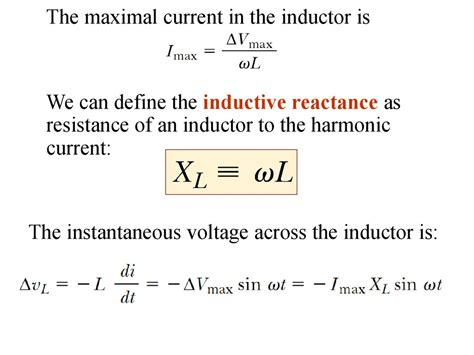 physics 2112 unit 20 outline driven ac circuits phase of v and i ppt the peak current through an inductor is 18 0 ma 28 images series resistor inductor circuits