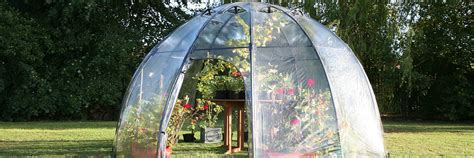urban green house the sunbubble greenhouse is a mini eden for your backyard