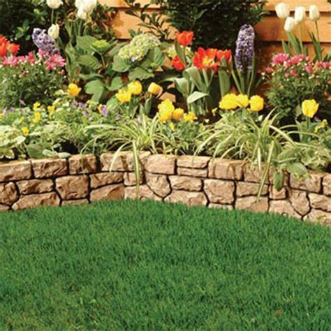 Ideas For Garden Edging Florida Flower Bed Landscaping Ideas Landscaping Edging Ideas Florida Pinterest Gardens