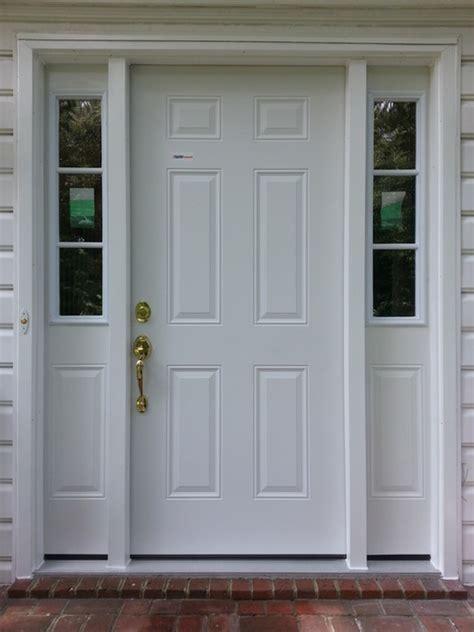 Entry Doors With Sidelites by Steel Entry Door With Sidelites Doormasterstm