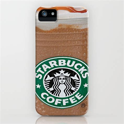 starbucks frappuccino iphone ipod by keeling society6