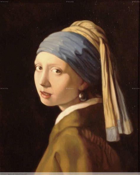 comprar cuadro la joven de la perla cuadros la joven de la perla gustavo gil cos artelista com