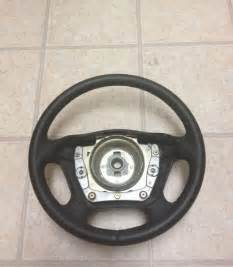 Leather Steering Wheels For Sale Genuine New Black Leather Steering Wheel For Mercedes 1998