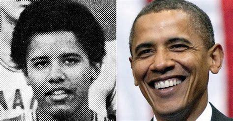 barack obama biography high school barack obama photos politicians high school yearbook