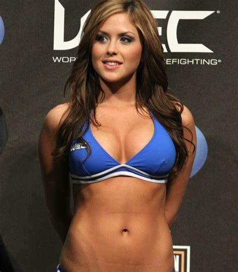 New UFC Ring Girl  Brittney Palmerevildead trailer, evil