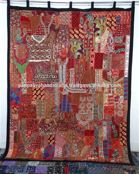 curtains in indian style handmade patchwork curtains cotton indian style curtains