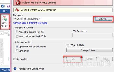 cara membuat zpt pdf cara paling cepat membuat file pdf via ms word