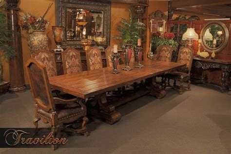 old world dining room furniture tuscano old world dining collection dream home pinterest