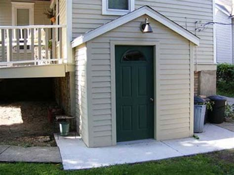 outside basement entrance door remodeling ideas
