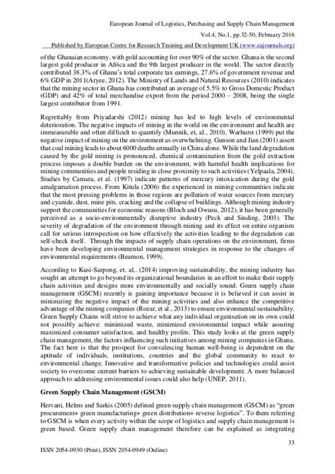 green supply chain management research paper how to become an outstanding research paper writer green