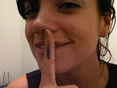 lily allen wrist tattoo allen tattoos pictures images pics photos of tattoos