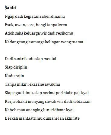 Membuat Puisi Jawa | info menarik