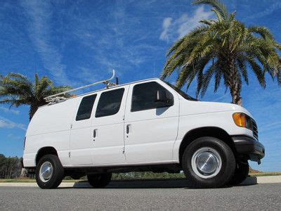 how does cars work 2004 ford e series engine control sell used 2004 ford e250 cargo van w ladder racks and work bin package in jacksonville florida