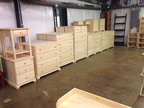 dove tail dressers lam brothers unfinished furniture