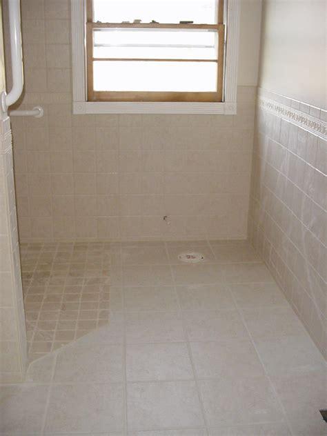 barrier free showers bennington ceramic tile solutions