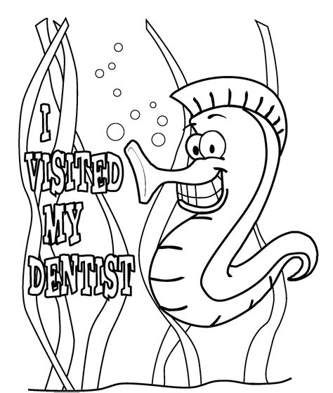 dental coloring pages for toddlers coloring pages