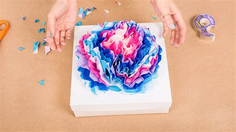 Paper Ideas - 7 days of gift wrapping ideas diy paper flowers stylecaster